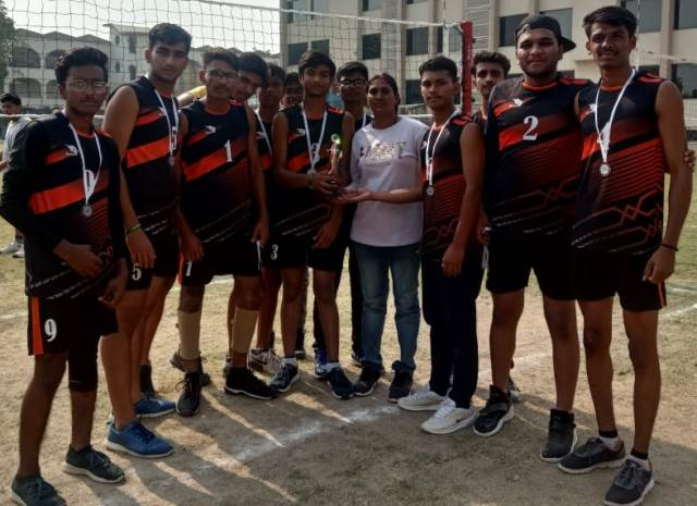 Our School Volleyball team won 2nd prize in Inter school Volleyball Tournament held in Meenakshi Public School, Sector-10, Gurugram